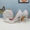 Zapato y bolsa de 11cm