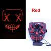Maschera LED rosso