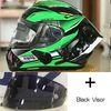 Clear + Black 2 visores