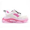 13 화이트 핑크 클리어 SOLE36-40.
