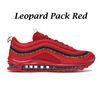 Pack léopard rouge
