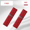 2 adet kırmızı emniyet kemeri kapağı