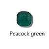 الطاووس الأخضر لون فضي