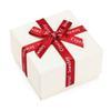 مع هدية مربع أبيض