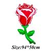 Rosa vermelha 3pcs