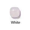 أبيض فضي اللون