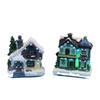 2pcs Houses