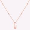 Collier en or rose-925 Silver8