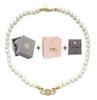 Halskette Gold White + Box