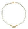 Halskette Gold Weiß No Kiste