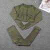 Армейский зеленый костюм