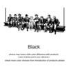 Negro-161cm x 70 cm