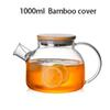 1000ml cubierta de bambú