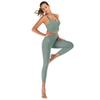 Jeu de yoga vert clair