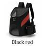 أسود أحمر الظهر-S