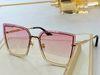 Gradient pink lens