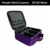 Purple mini 2 couches