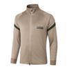 A401# 2021 Long zipper Khaki top