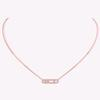 Collier en or rose-925 Silver5