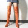 Long Boots Orange