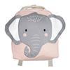 Borsa elefante rosa