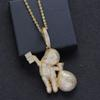 Clear Stone Gold-24inch