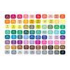 80 couleurs