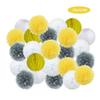 grey yellow set