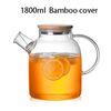 1800 ml Cubierta de bambú