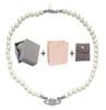 Halskette Silber White + Box