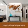 Wood74x34cm