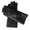 Черные перчатки Кожа-Женщины