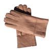 Розовые перчатки Кожа-Женщины