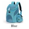 الأزرق الحيوانات الأليفة على ظهره-S