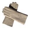Кожа Бежевый Белый Женские перчатки