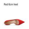 Красный 6см каблука
