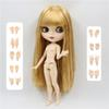 Матовое лицо Жирных волосы-30см
