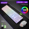 White RGB LED retroilluminato