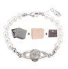 Armband Silber White + Box