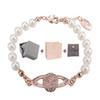 Armband Rose Gold White + Box