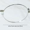 Silver Clear 55mm
