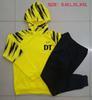 Jaqueta de hoodie amarelo dt