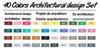 40 مجموعة المعمارية