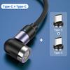 2USB C-Stecker 1Cable