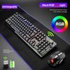 Black RGB LED retroilluminato