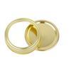 70mm tampas + faixas de 70mm (ouro)