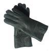 Зеленые перчатки Кожа-Женщины
