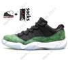 # 34 Low Green Snakeskin 36-47