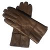 Коричневые перчатки Кожа-Женщины