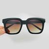 black frame gradient tea lenses